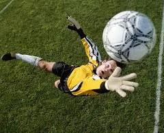 Soccer goalkeeper skills