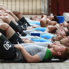 Recovery for soccer players